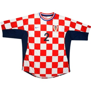 2001-02 Croatia Match Issue Home Shirt #2