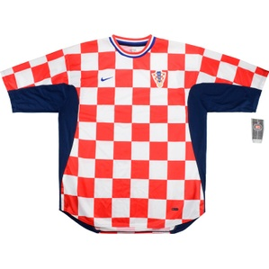 2001-02 Croatia Home Shirt *w/Tags* XL