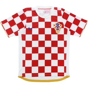 2006-08 Croatia Home Shirt (Excellent) S
