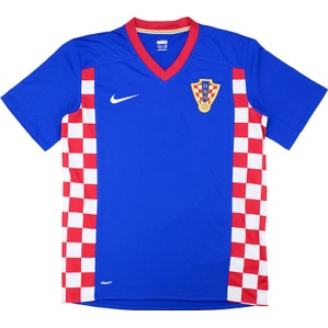 2007-09 Croatia Away Shirt (Very Good) XXL