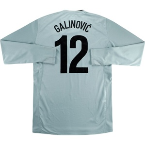 2008-09 Croatia Player Issue GK Shirt Galinović #12 *Mint* XL
