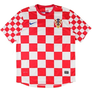 2012-13 Croatia Home Shirt (Excellent) XL