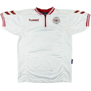 2000-02 Denmark Away Shirt (Very Good) L