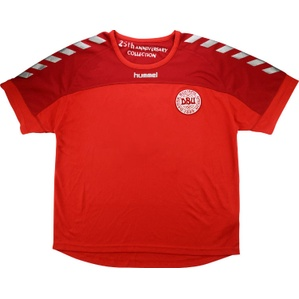 2004 Denmark Hummel Training Shirt (Excellent) M/L
