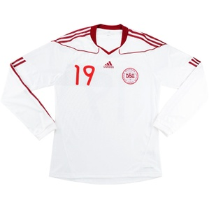 2009-11 Denmark Match Issue Away L/S Shirt #19