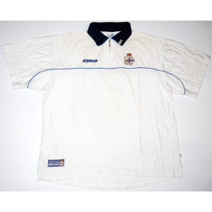 2002-03 Deportivo Joma Zip-Up Polo T-Shirt XL