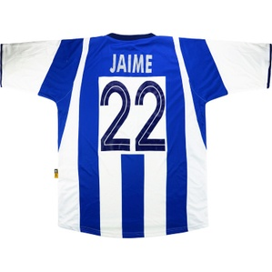 2004-05 Deportivo Match Issue Champions League Home Shirt Jaime #22 (v Shelbourne)
