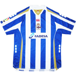 2007-08 Deportivo Home Shirt (Good) S