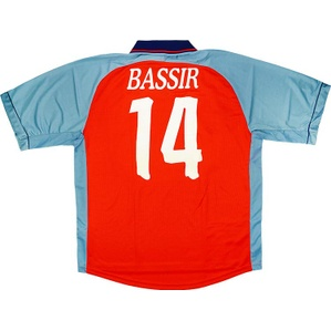 1998-99 Deportivo Match Issue Away Shirt Bassir #14
