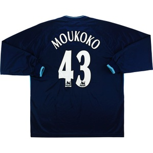 2001-02 Derby County Away L/S Shirt Moukoko #11 (Very Good) 3XL