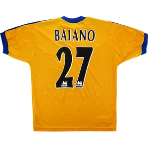 1998-99 Derby County Away Shirt Baiano #27 (Very Good) XL