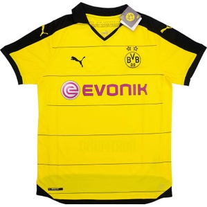 2015-16 Dortmund Home Shirt *BNIB*