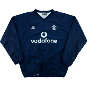 2000-02 Manchester United Umbro Performance Shell (Very Good) L