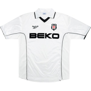 2000-01 Besiktas Home Shirt (Excellent) XL