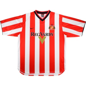 2000-02 Sunderland Home Shirt (Good) XXL