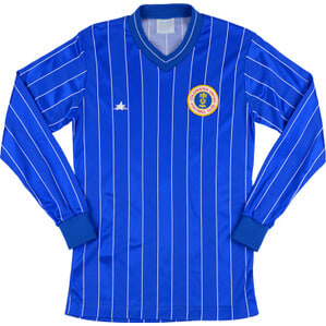 1985-86 Colchester Home L/S Shirt S