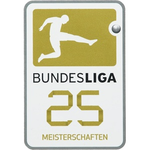 2016-17 Bundesliga 25 Meisterschaften - Bayern Munich Player Issue Patch