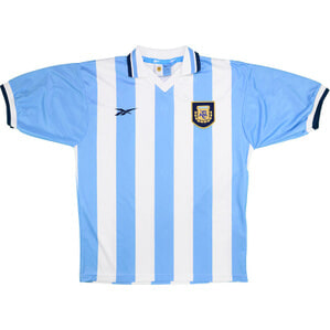 1999-00 Argentina Home Shirt (Excellent) XL