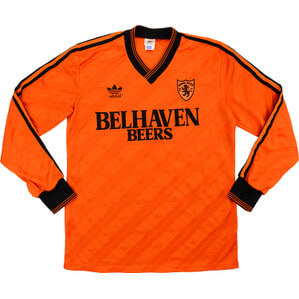 1987-88 Dundee United Match Issue Home L/S Shirt #16 (Paatelainen)