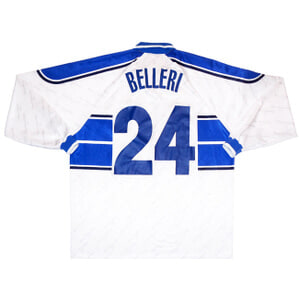 1999-00 Empoli Match Issue Away L/S Shirt Belleri #24 XXL