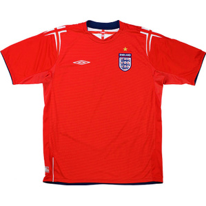 2004-06 England Away Shirt (Very Good) L