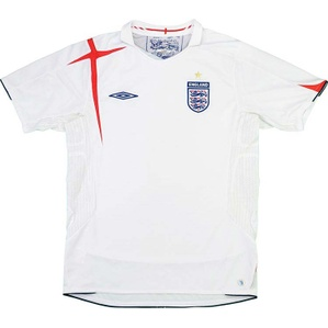 2005-07 England Home Shirt (Very Good) XL
