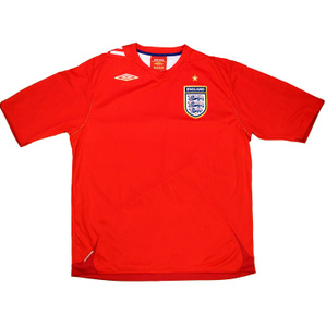 2006-08 England Away Shirt (Excellent) M