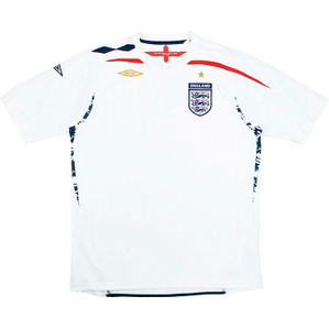 2007-09 England Home Shirt (Very Good) L