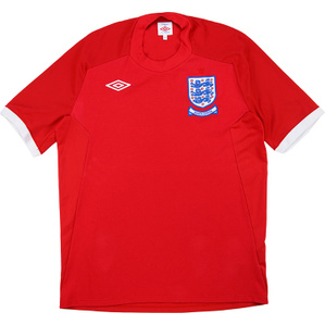 2010 England 'South Africa' Away Shirt (Very Good) M