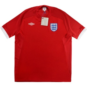 2010-11 England Away Shirt *w/Tags* XL