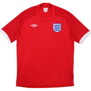 2010-11 England Away Shirt (Very Good) XXL