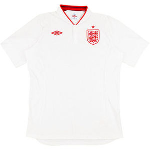 2012-13 England Home Shirt (Very Good) L
