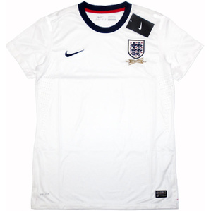 2013 England Women's Player Issue '150ᵗʰ anniversary' Home Shirt *BNIB* S