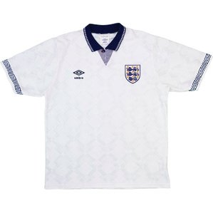 1990-92 England Home Shirt (Good) L