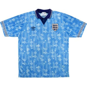 1990-92 England Third Shirt (Very Good) XL