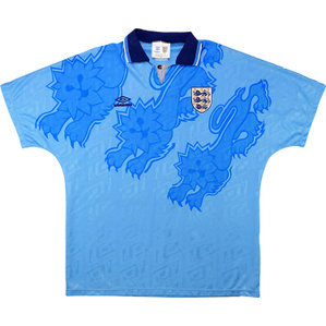 1992-93 England Third Shirt (Good) XL