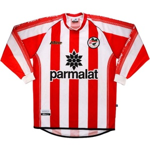 2000-01 Estudiantes La Plata Home L/S Shirt (Excellent) L