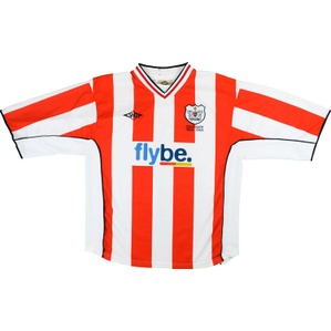 2003-04 Exeter City Centenary Home Shirt (Good) L