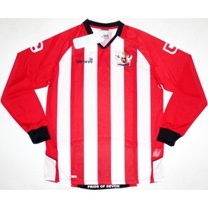 2009-11 Exeter City L/S Home Shirt *BNIB* L
