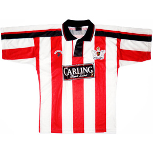 1992-93 Exeter City Home Shirt S