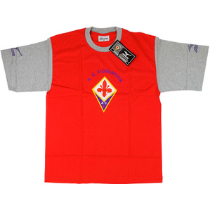 2001-02 Fiorentina Mizuno Red Leisure Tee *BNIB*