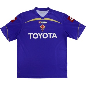 2009-10 Fiorentina Home Shirt (Good) XXL