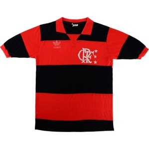 1982-83 Flamengo Home Shirt #10 (Zico) (Very Good) M