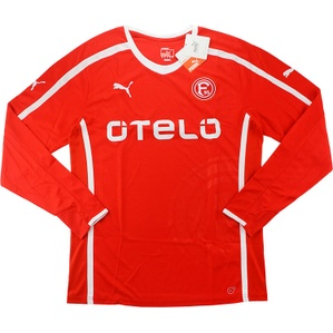 2013-14 Fortuna Dusseldorf Player Issue Home L/S Shirt *BNIB*