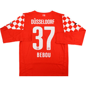 2014-15 Fortuna Dusseldorf Home L/S Shirt Bebou #37 *w/Tags*