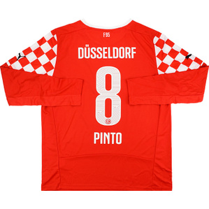 2014-15 Fortuna Dusseldorf Home L/S Shirt Pinto #8 *w/Tags*