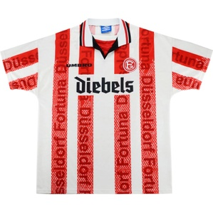 1996-98 Fortuna Dusseldorf Home Shirt (Excellent) XL
