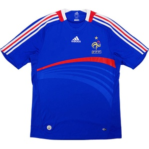 2007-08 France Home Shirt (Fair) S