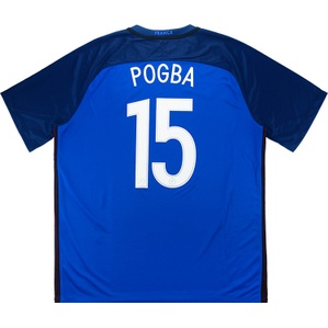 2016-17 France Home Shirt Pogba #15 *w/Tags* XXL