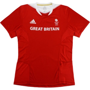 2012 Team GB Olympic Adidas Training Shirt (Excellent) M/L